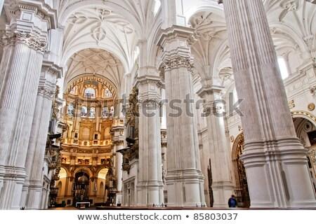 像 · 大聖堂 · ラ · スペイン - ストックフォト © neirfy