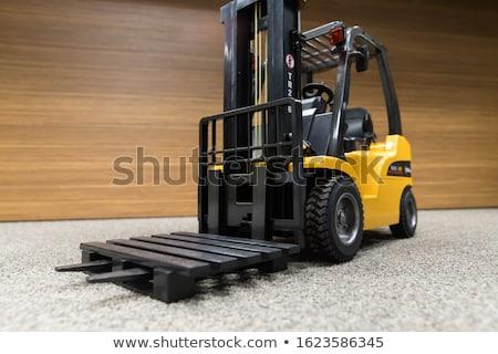 used forklift truck stock photo © jakatics