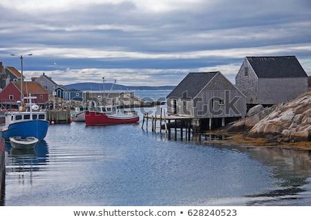 Peggy's Cove Fishing Village Stock photo © ca2hill