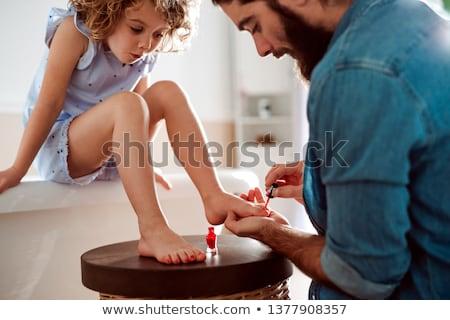 Painting Nails Stock photo © zhekos