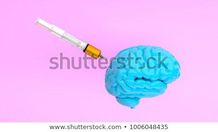 3d · illustration · klaar · geneeskunde · verpleegkundige · baan · spuit - stockfoto © spectral