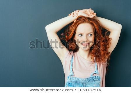 自然 · 女性 · 腕 · 白 · 肖像 - ストックフォト © wavebreak_media