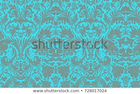 бесшовный орнамент аннотация Живопись ткань шаблон Сток-фото © mart