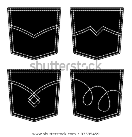 Denim jeans pantaloni tasca dettaglio design Foto d'archivio © stevanovicigor