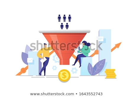 Sales Process Chart stock photo © cteconsulting