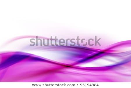 Purple Fractal Layout Stock photo © ArenaCreative