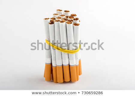 abrir · completo · empacotar · cigarros · isolado · fundo - foto stock © blotty