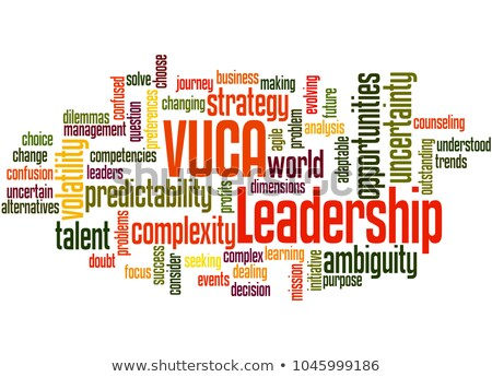 Word Cloud Ambiguity Stock photo © burakowski