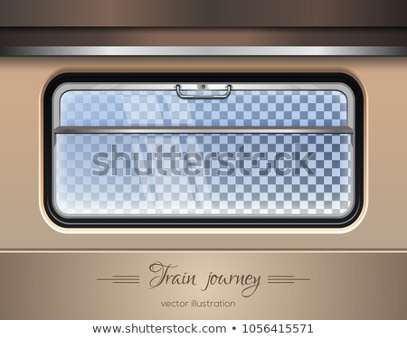 View from the window of a train Stock photo © remik44992