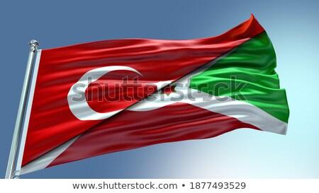 Turquia Burundi bandeiras quebra-cabeça isolado branco Foto stock © Istanbul2009