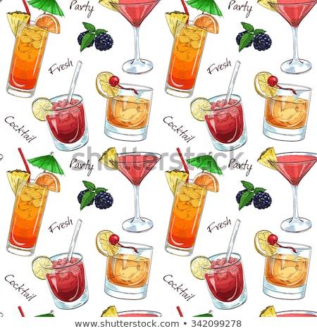 Renk model yeni çağ içecekler Stok fotoğraf © netkov1
