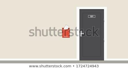Part of a mailbox Stock photo © michaklootwijk