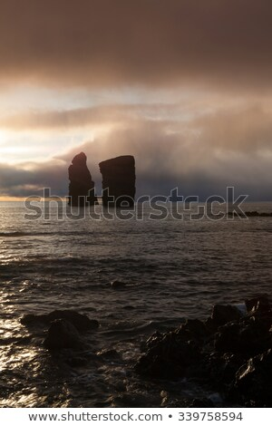 dramatic coast before stormsao miguel azores stock photo © capturelight