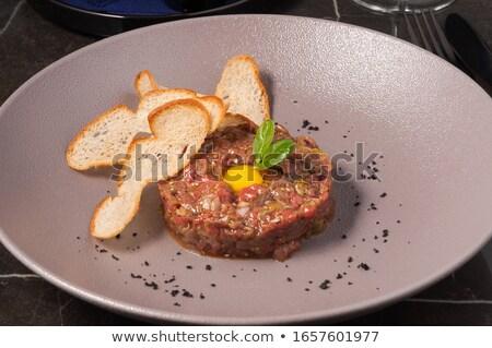 мяса яйцо гренок для супа стране есть культура Сток-фото © fanfo