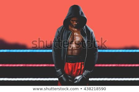молодым · человеком · шорты · пусто · человека · лет · печально - Сток-фото © wavebreak_media