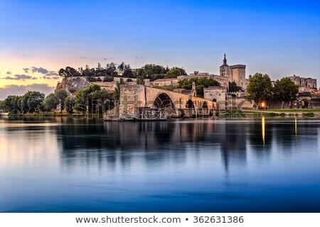 Pont Saint-Benezet in Avignon South France Stock photo © meinzahn