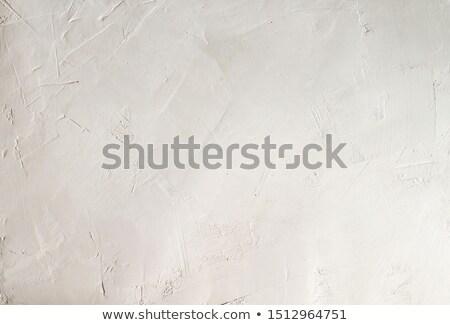 Whitewashed white Mediterranean wall texture Stock photo © lunamarina