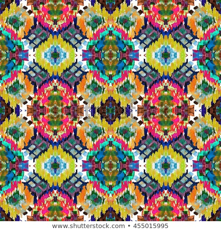 Farbenreich Muster chaotischen digitalen unordentlich abstrakten Stock foto © SwillSkill