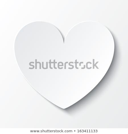 Keret alkat sarok felső fenék üres Stock fotó © robuart