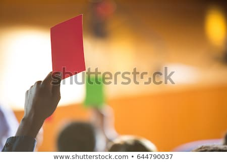 Business executives show their disapproval by raising hands Stock photo © wavebreak_media