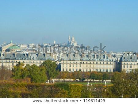 Mont Matre hill, Paris, France Stock photo © neirfy