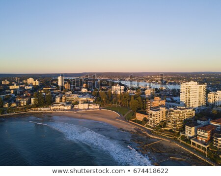 Cronulla coastline aerial views Stock photo © lovleah