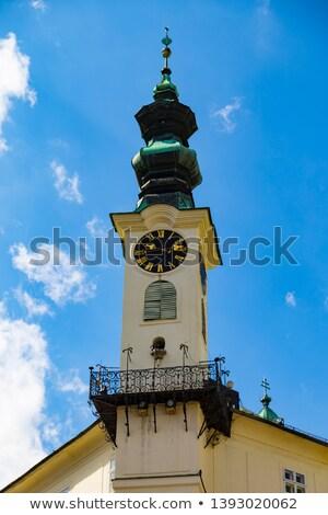 town hall's detail, Banska Stiavnica, Slovakia Stock photo © phbcz
