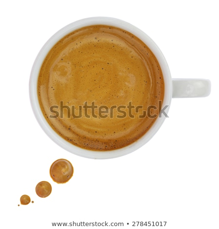 Coffee cup with caption balloon Stock photo © bennerdesign