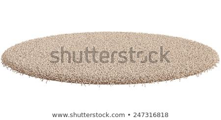クリーン 階 カーペット 3次元の図 孤立した 白 ストックフォト © montego