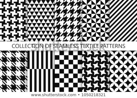 Kolekcja geometryczny dekoracyjny wektora wzorców Zdjęcia stock © ExpressVectors