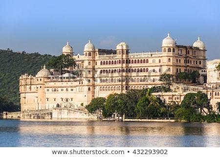 город дворец Индия романтические роскошь туризма Сток-фото © dmitry_rukhlenko