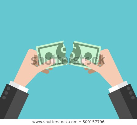 Money waste vector concept metaphor Stock photo © RAStudio