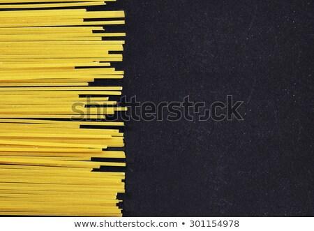 Italian Pasta with  row Horizontally  Stock photo © stoonn