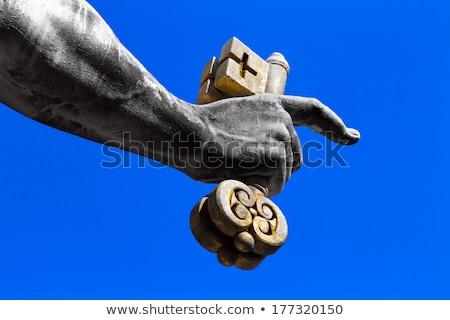 Apostle with key Stock photo © fxegs