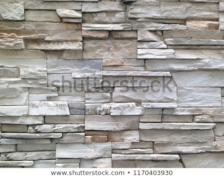 background jagged white stone wall Stock photo © Rob_Stark