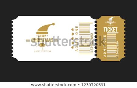 Paper sale ticket Stock photo © orson