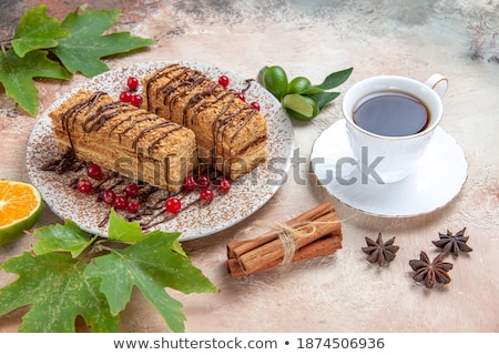 hot · napojów · czekolady · czarny · pić - zdjęcia stock © hofmeester