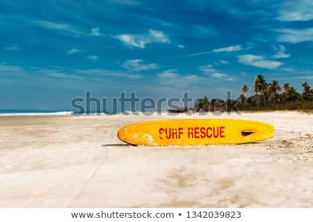 поиск спасательные ярко желтый доска для серфинга Постоянный Сток-фото © photohome