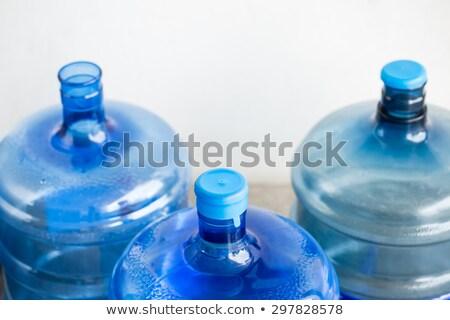big plastic bottle for potable water isolated Stock photo © ozaiachin