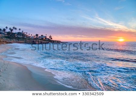 ラ · 海 · サイド · 郊外 · サンディエゴ · カリフォルニア - ストックフォト © hectorsnchz