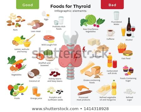 Organisch sojasaus goede gezondheid dieet bonen Stockfoto © shutter5