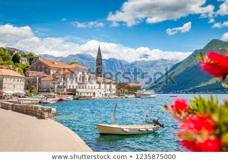 views of perast on kotor bay, montenegro  Stock photo © travelphotography