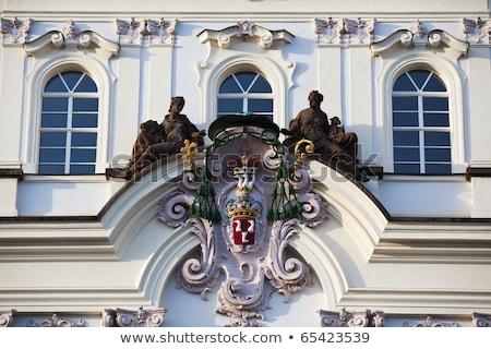 gothic · palazzo · dettaglio · fort · costruzione · castello - foto d'archivio © capturelight