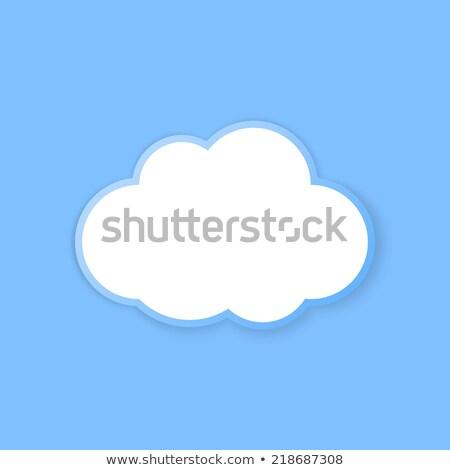 button cloud 2d Stock photo © mizar_21984