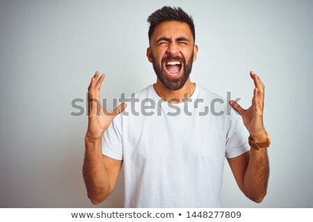 upset man yelling stock photo © ichiosea