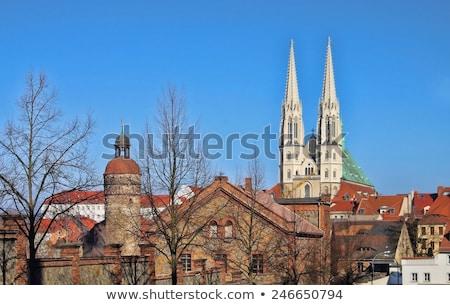 kerk · gebouw · architectuur · toren · Duitsland - stockfoto © lianem