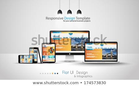 gestão · componentes · negócio · diagrama · ilustração · estratégia · de · negócios - foto stock © davidarts