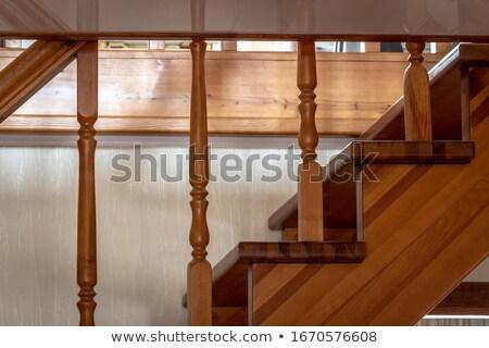 лестница · домой · стены · свет · дизайна - Сток-фото © vwalakte