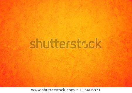 Old Wall With Weathered Orange Paint Background Texture Stock photo © Kuzeytac