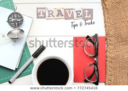 Hand with pen writing Tips and Tricks Stock photo © Zerbor